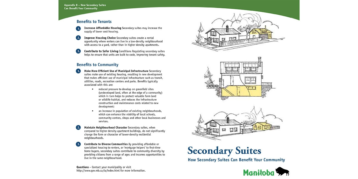 Municiple Planning Guidelines for Secondary Suites